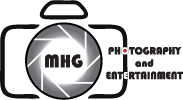 MHG Photo & Entertainment Logo
